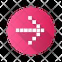 Pixel Arrow Square Icon