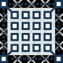 Pixel Grid Shape Icon