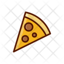 Pizza Fast Food Junk Food Icon