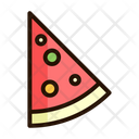 Pizza Piza Fast Food Icon