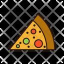 Pizza Pizza Slice Cheesey Pizza Icon