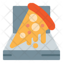 Pizza Pizza Box Melting Pizza Icon