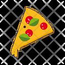 Pizza Slice Salami Icon