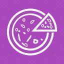 Pizza Piece Slice Icon