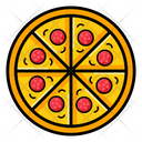 Pizza Fast Food Snack Icon