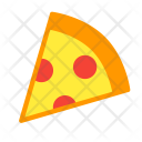 Pizza Piece Fastfood Icon