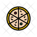 Pizza Fastfood Slice Icon
