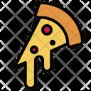 Pizza Pizza Slice Cheese Pizza Icon