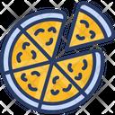 Pizza Fast Food Delicious Icon