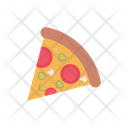 Pizza Slice Fastfood Icon