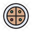 Pizza Fastfood Junkfood Icon