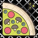Pizza Pizza Slice Fastfood Icon