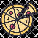 Pizza Food Slice Icon