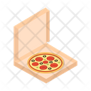 Pizza Italian Fastfood Icon