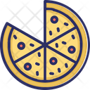 Pizza Fast Food Junk Food Icon