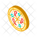 Pizza Spicy Peppers Icon