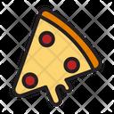 Pizza Slice Pizza Junk Food Icon