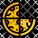 Pizza Bake Bread Icon