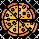 Pizza Italian Junk Icon
