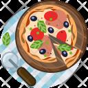 Pizza Pizzeria Lunch Icon
