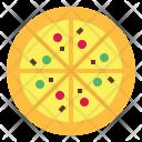 Pizza Fastfood Junkfood Icon
