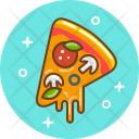 Pizza Food Cooking Icon