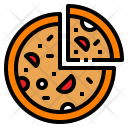 Pizza Fastfood Snack Icon
