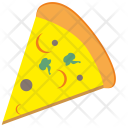 Pizza Food Piece Icon