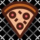 Pizza Italy Slice Icon