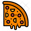 Pizza Fastfood Food Icon