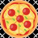Pizza Slice Veggies Icon