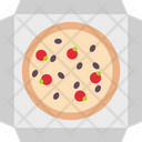 Pizza Pizza Pack Italian Food Icon