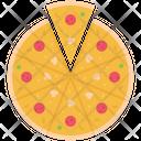 Pizza Salami Mushroom Icon
