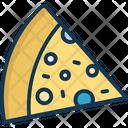 Pizza Piece Pizza Food Icon