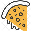 Pizza Slice Cooking Icon