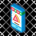 Fast Food Phone Icon