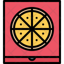 Pizza Box Fast Icon