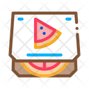 Pizza Box Take Icon