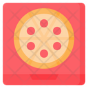 Pizza Box Delivery Icon