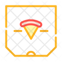 Pizza Box Color Icon