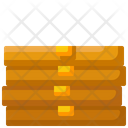 Deliver Junk Food Package Icon