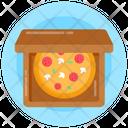 Pizza Food Pizza Box Icon