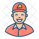Pizza Boy Icon