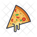 Pizza Cheese Cheese Cheddar Icon