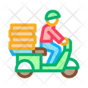 Delivery Food Pizzafast Icon