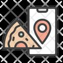Pizza Delivery Location Icon
