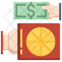 Pizza Delivery Payment Food Delivery Payment Cash Payment Icon