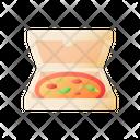 Pizza In Box Pizza Box Icon