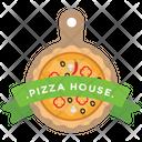 Pizza Label Icon