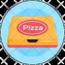 Pizza Parcel Food Pizza Box Icon